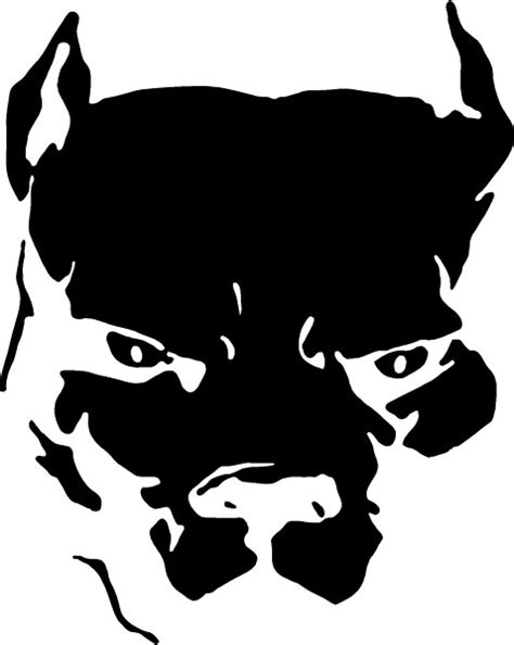 animal decals dog decals pitbull decal sticker 11