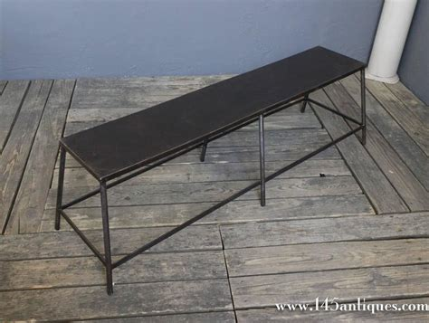 metal benches for sale pair of french industrial metal benches for sale at 1stdibs
