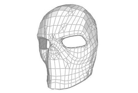 template mask papercraft skull papercraftsquare free papercraft download
