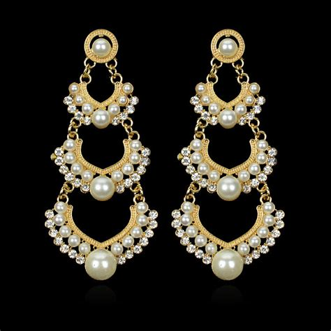 Chandelier Earrings Indian Popular Indian Chandelier Earrings Buy Cheap Indian Chandelier Earrings Lots From China Indian