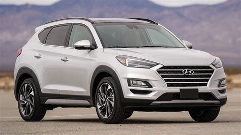 hyundai tucson 2019 facelift 2019 hyundai tucson facelift drops turbo dct in us