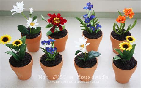 Flower And Pot Flower Pot Cakes Risenmay