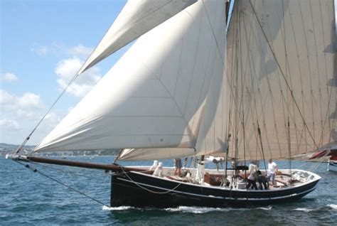 Deck Co Uk by Luke Powell Pilot Cutter Wooden Sailing Yacht For Sale