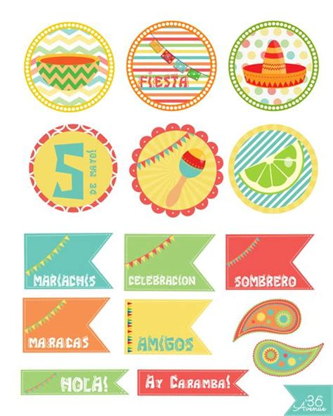 A 02 Topper Hiasan Kue Caketopper Bunting Flag Cake Topper 17 best images about free printables circles and cupcake toppers on