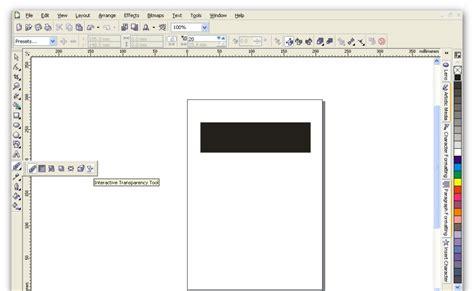 membuat pattern corel tutorial coreldraw membuat teks bayangan