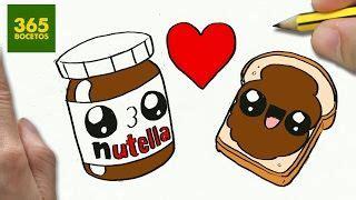 imagenes de tostadas kawaii como dibujar nutella y pan enamorados kawaii paso a paso