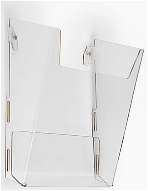 case of 10 ikea magazine holders only 9 63 reg 29 99 wall magazine rack high impact acrylic pocket