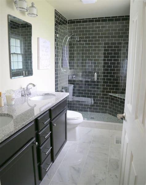 black subway tile bathroom 4 reasons you should use black subway tile in your bathroom