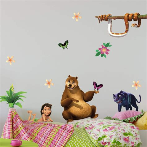Wandtattoo Kinderzimmer Dschungelbuch by Wandtattoo Dschungelbuch Wandaufkleber Der Kika Sendung