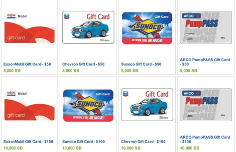 Chevron Gas Gift Cards - free gas from chevron exxon mobile arco or sunoco freebies2deals