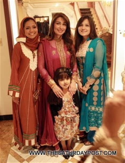 film star reema family reema khan new casual family pictures b g fashion