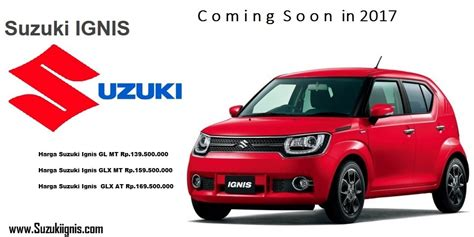 Suzuki Mobil Indonesia Price List Harga Suzuki Ignis Di Jepang Price List Suzuki Mobil