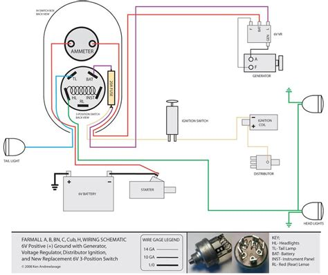 generator voltage regulator wiring diagram