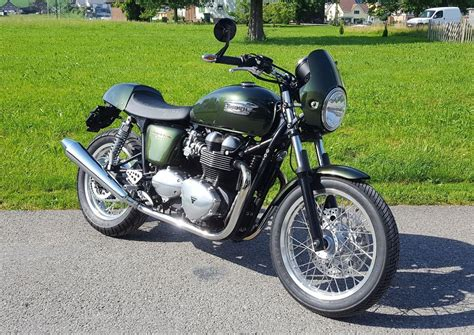 Triumph Motorrad Hafner motorrad occasion kaufen triumph thruxton 900 hafner s