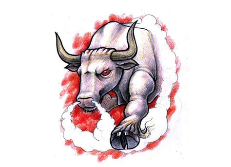 bulls tattoo designs bull tattoos