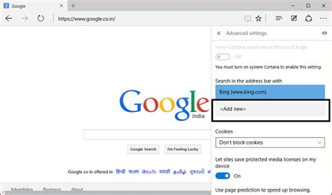 New Search Engines How To Make My Default Search Engine In Edge Browser
