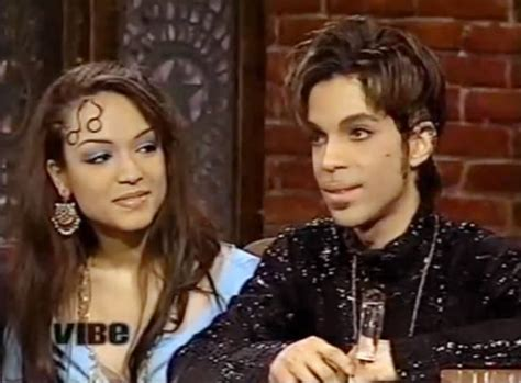 princes ex wife mayte garcia it was the most bizarre prince and wife mayte garcia in 1997 we believed he was