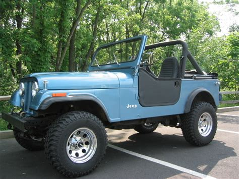 Jeep Cj7 Wheels And Tires Blue85cj7 1985 Jeep Cj7 Specs Photos Modification Info