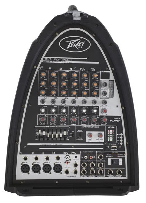Mixer Audio Pvi peavey pvi portable pro audio dj compact pa system 300w pa