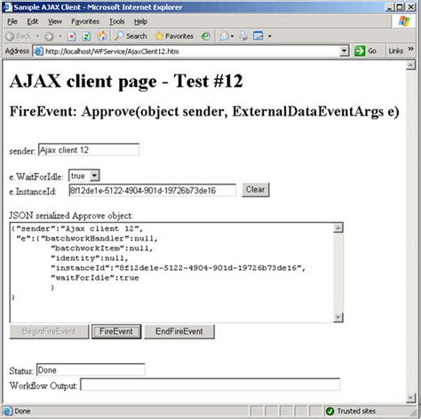 state machine workflow exle source code workflowevents from ajax codeproject