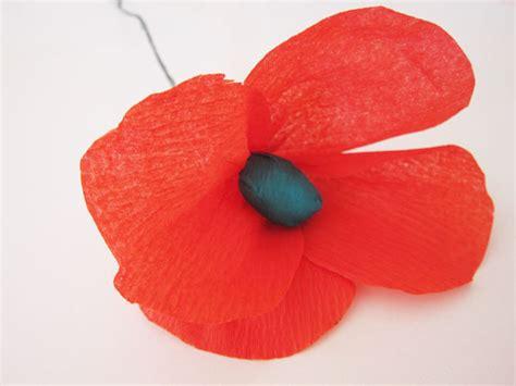 paper poppy flower tutorial poppy paper flower tutorial polka dot bride