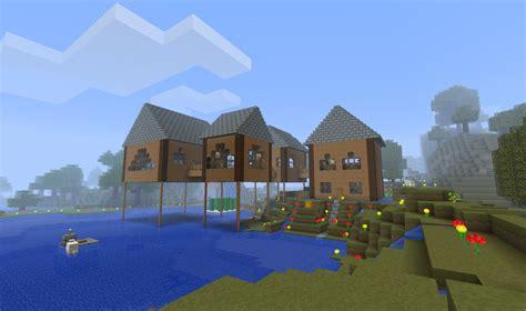 minecraft lake house pin minecraft modern lake house on pinterest
