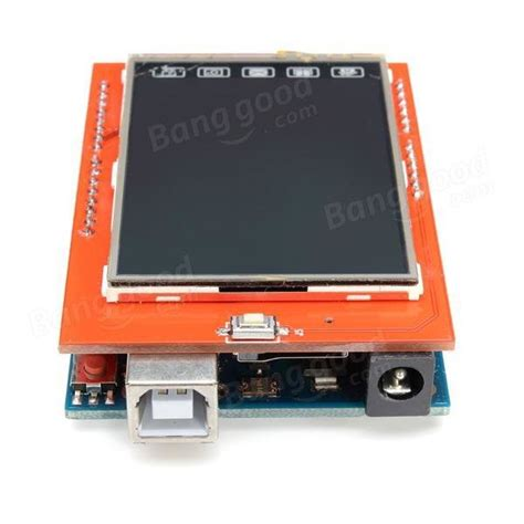 Lcd Display Tft Touch Screen 2 4 Inch For Arduino Uno Ai22 geekcreit uno r3 atmega328p board 2 4 inch tft lcd touch screen module for arduino sale