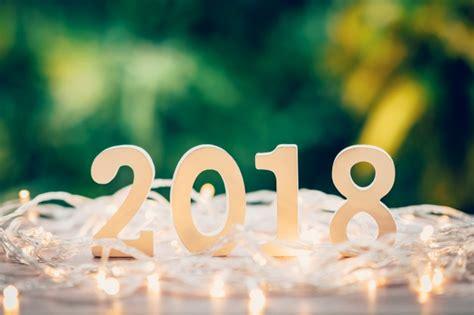 imagenes vintage año nuevo 2018 concepto de a 241 o nuevo para 2018 los n 250 meros de madera de