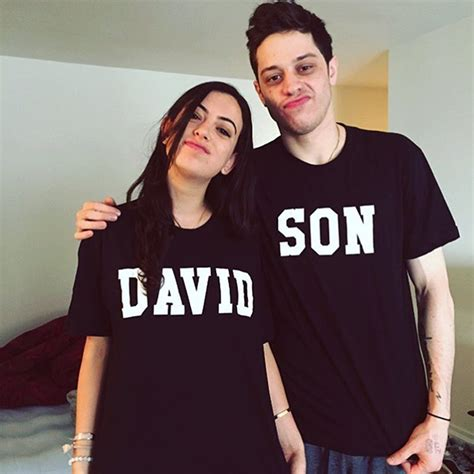 pete davidson on dating larry david s daughter cazzie