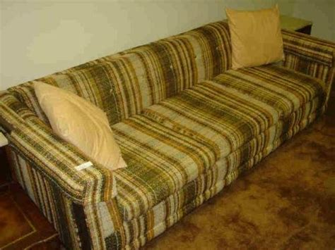 70s couch 70 s plaid couch