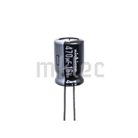 capacitor 16v 470uf 16v electrolytic capacitor