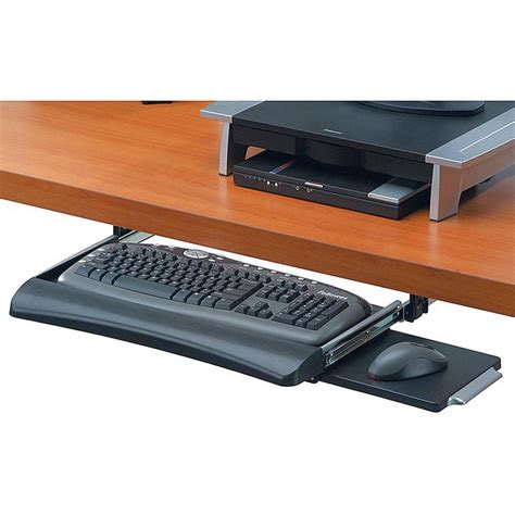 Fellowes Deluxe Keyboard Drawer by Fellowes 174 Office Suites Underdesk Keyboard Tray 2 31 Quot H X