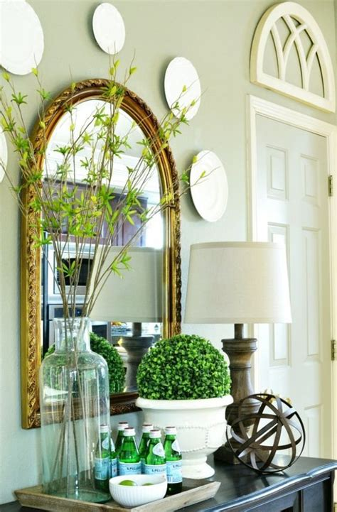 how to decorate a buffet table in dining room 25 fresh spring console table decor ideas digsdigs