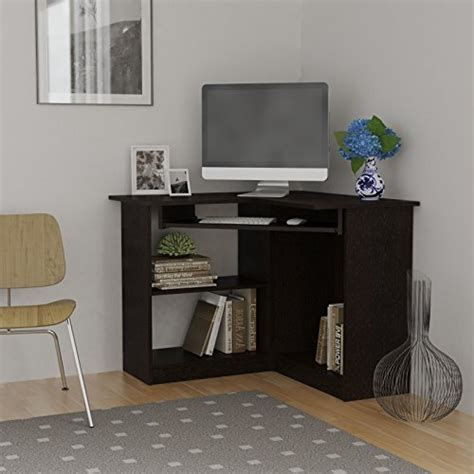 Corner Desk For Home Essential Home Corner Computer Desk Espresso Small Corner Computer Desk