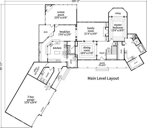 Warm Mountain Retreat Cabin Lodge House Plan Alp Angled House Plans With Open Concept