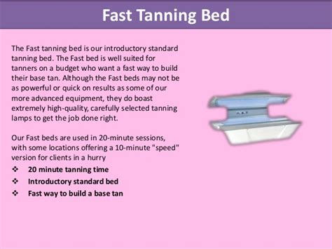 how to tan in a bed how to tan in a tanning bed faster