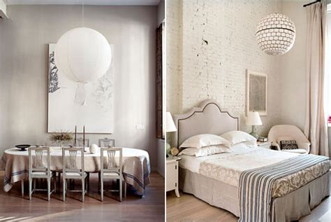 chinese lanterns for bedroom domino editor deborah needleman s muted tribeca loft
