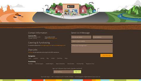 web layout header footer 40 creative website footer design exles