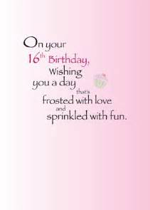Sweet Sixteen Birthday Quotes Quotes For Daughters Sweet 16 Quotesgram