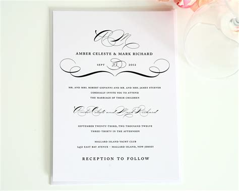 wedding invitation layout exles 20 contemporary wedding invitation exles bonfx