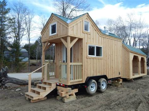 small homes on wheels the latest tiny house on wheels from jamaica cottage shop