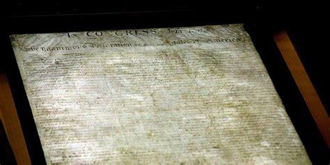 declaration  independence preservation  science