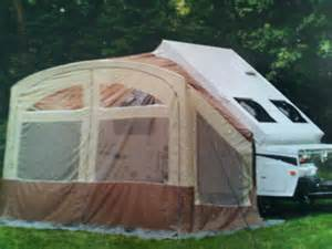 awning screen room on a forest river a frame folding c