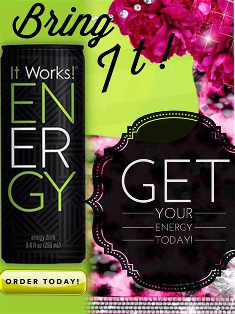energy drink questions 17 best images about it works global on it