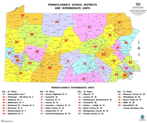 school districts in map membership membership