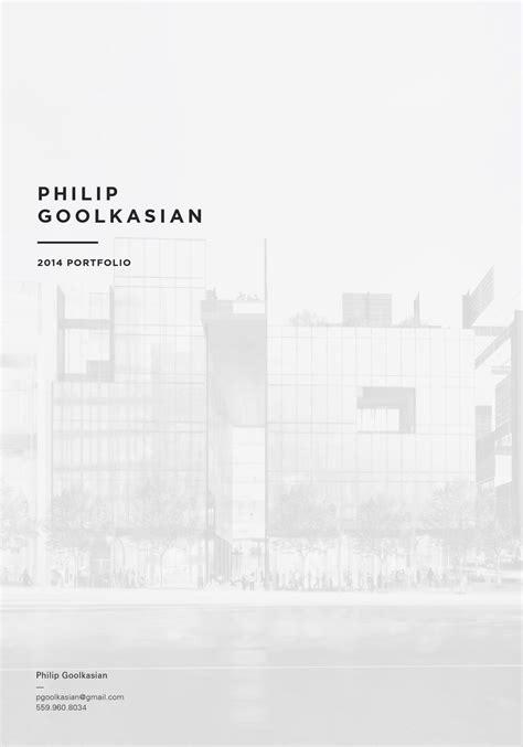 philip goolkasian  architecture portfolio  philip