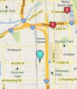 map us cellular field chicago hotels near u s cellular field chicago il