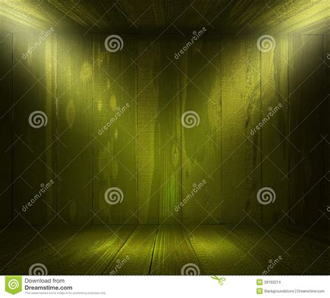 Spotlight Green by Green Wooden Spotlight Room Background Stock Images