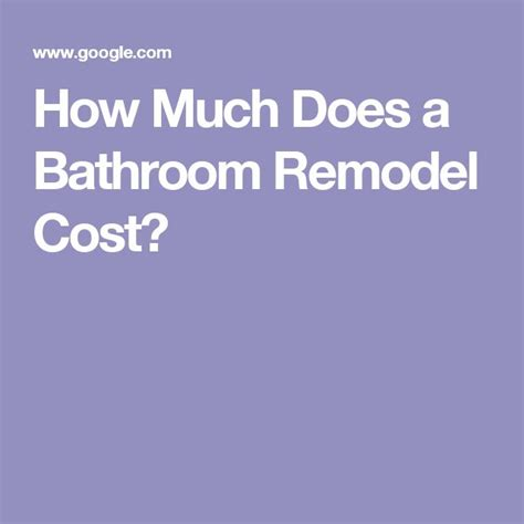 how much does a basement bathroom cost 25 best ideas about bathroom remodel cost on pinterest