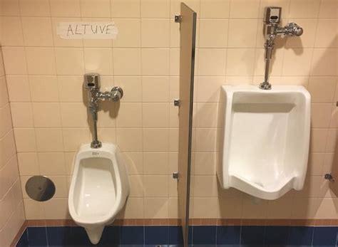 Small Home Urinals Jake Marisnick Made A Jose Altuve Joke